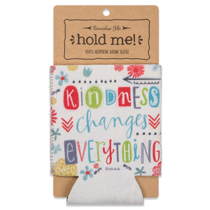 Insulated Drink Sleeve, Kindness Changes Everything