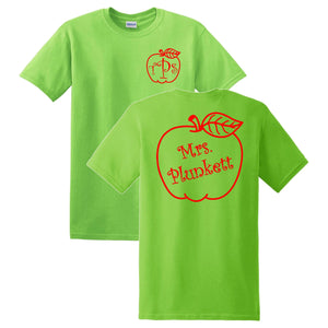 Apple Monogrammed T-Shirt