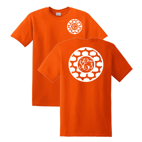 Circle Pumpkin T-Shirt