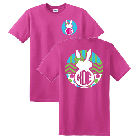 Easter Bunny Monogrammed T-Shirt