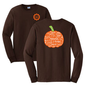 Pumpkin Long Sleeve Shirt