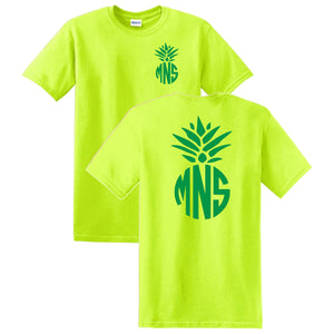 Pineapple Monogrammed T-Shirt