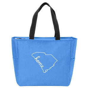 South Carolina Home Zip Tote