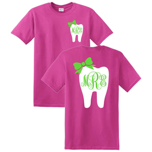 Tooth Monogrammed T-Shirt