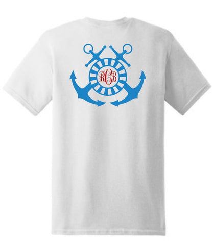 Anchor Monogrammed T-Shirt