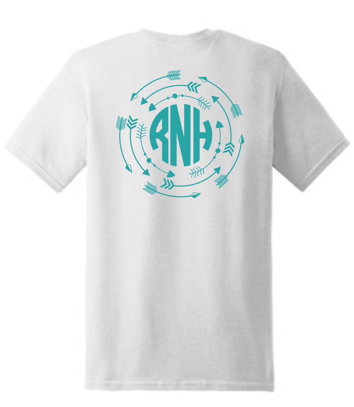 Arrows Monogrammed T-Shirt