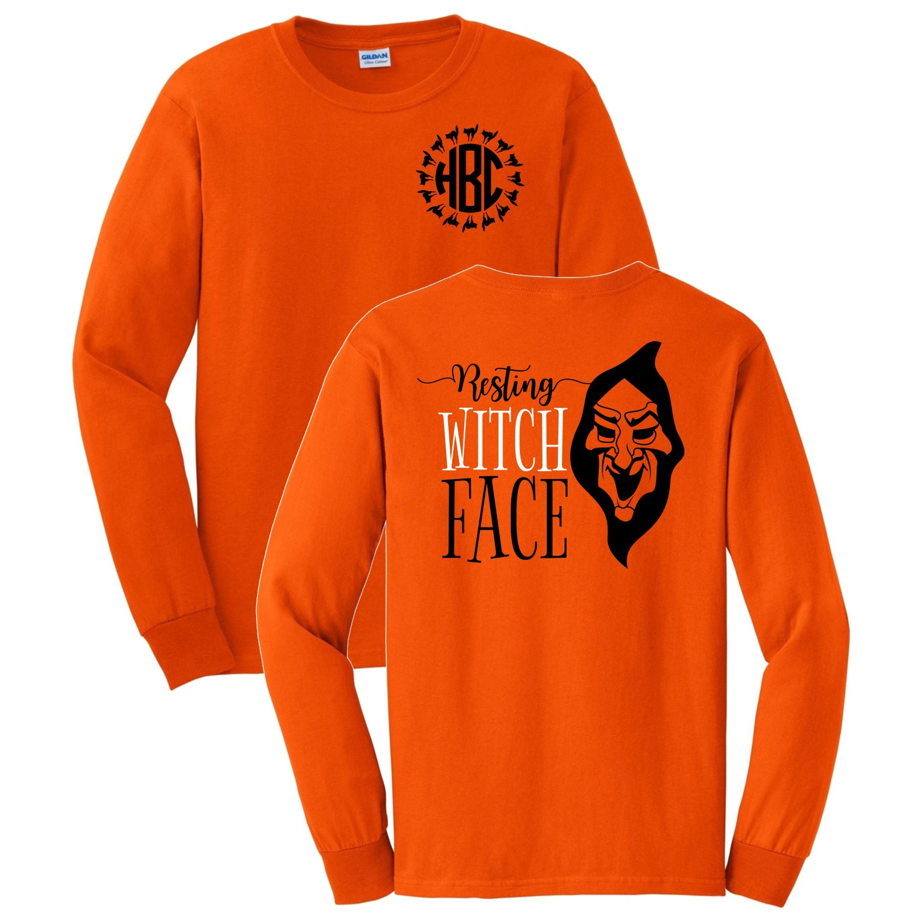 Resting Witch Face Long Sleeve Shirt