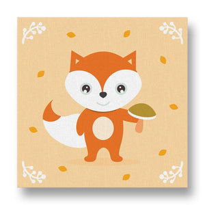 Friendly Fox Canvas Print