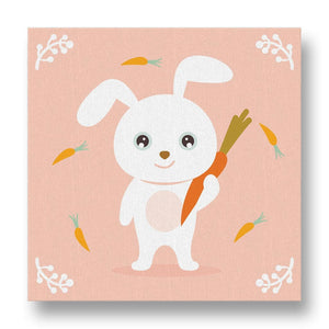 Friendly Bunny Canvas Print