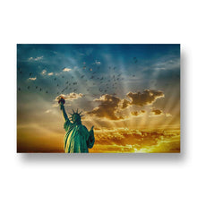 Statue of Liberty Canvas Print in Colour