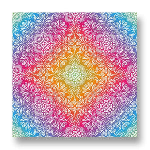 Colourful Pattern Canvas Print in Colour