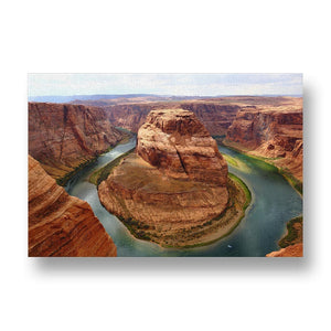 Glen Canyon Canvas Print in Colour