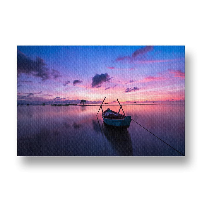 Sunrise over Phu Quoc Canvas Print in Colour