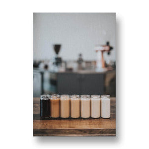 The Colour of Coffee Canvas Print