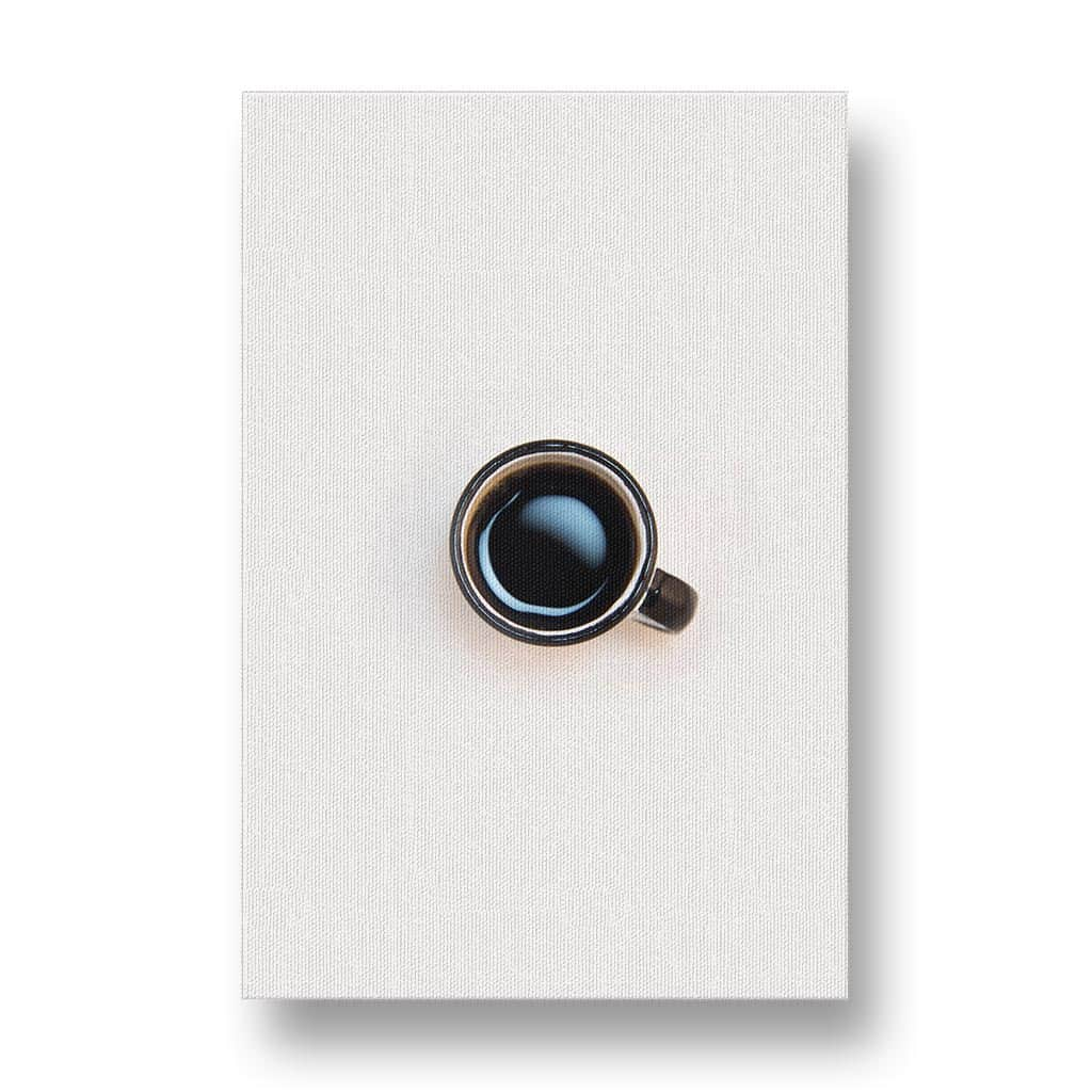 Coffee Minimalism Canvas Print