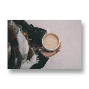 Staying Warm in Winter Canvas Print