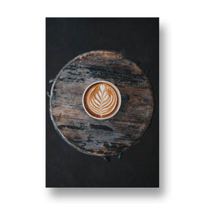 Skillful Barista Canvas Print