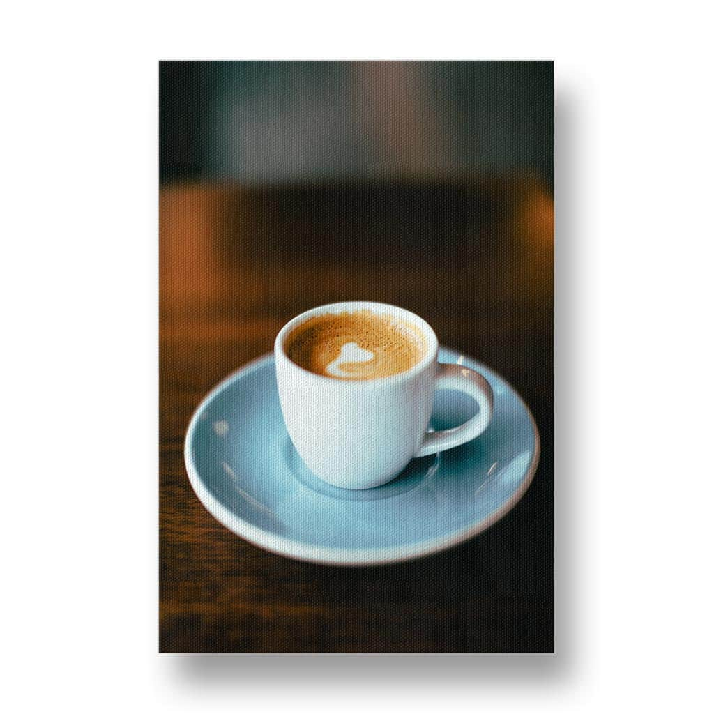 Simply Coffee Canvas Print