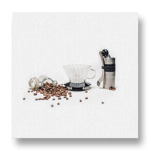 Coffee Preparation Canvas Print