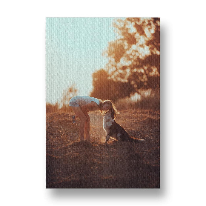 Woman's Best Friend Canvas Print