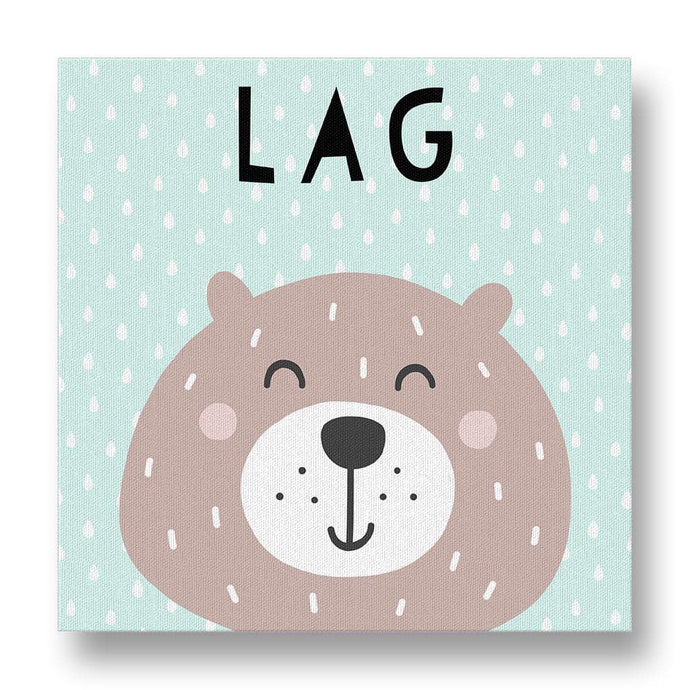 Lag Beer Canvas Print