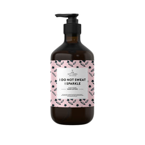 Håndlotion I do not sweat I sparkle, 250 ml - The Gift Label