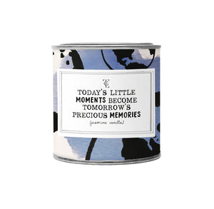 Økologisk duftlys, todays little moments, 90 g. Jasmin vanilla