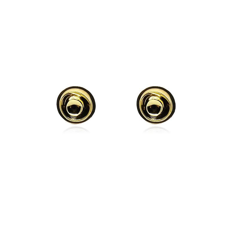 No More Tears Stud in 18k Gold - ThEyes On