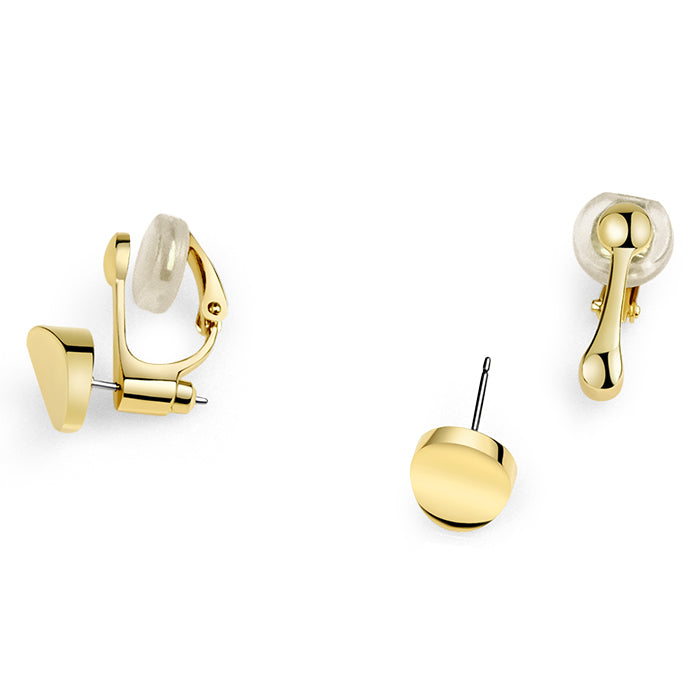Adoring Large Stud in 18k Gold - ThEyes On