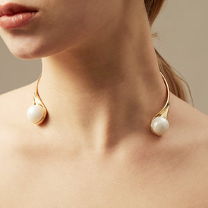 3-way Neck Collar in 18k Gold - ThEyes On