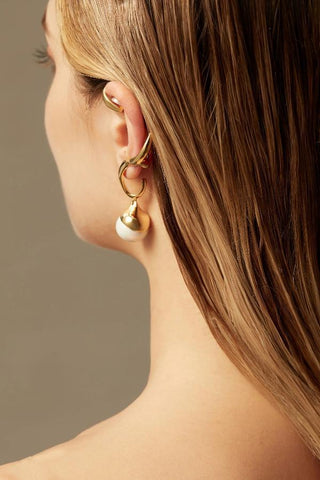 Devotion Pair Ear Cuff in Rh 925Silver - ThEyes On