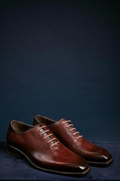 One Piece Brown Leather Shoe