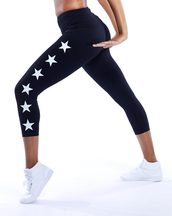 STAR POWER 3/4 Compression Legging