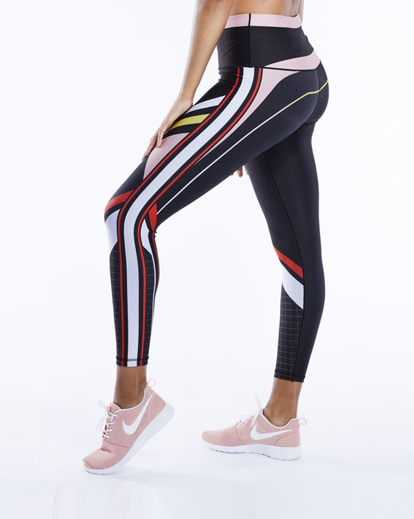 Color Block Legging (Multi)