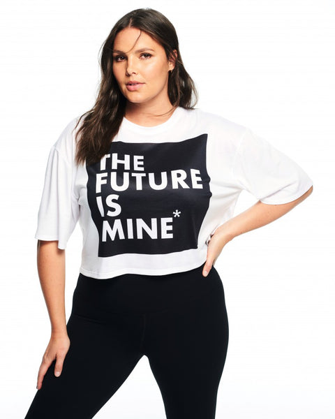 The Future is Mine Crop Tee