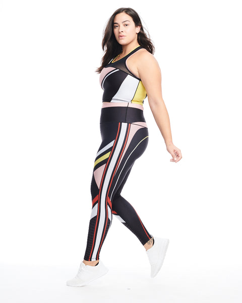 Color Block Performance Crop (Multi)