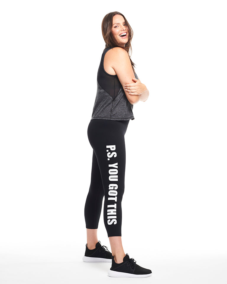 YOU GOT THIS 3/4 Compression Legging