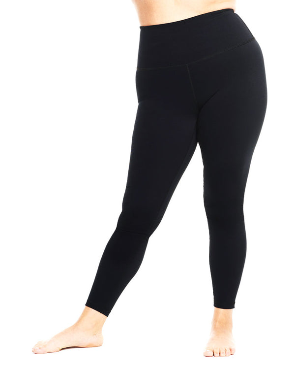The One Petite Full-Length Compression Legging from Day Won Activewear