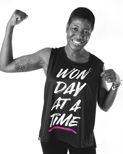 Won Day at a Time Muscle Tee