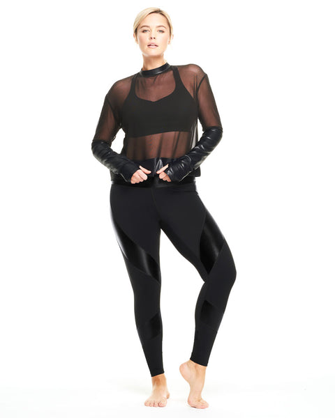 The Onyx Shine Legging by Activewear Day Won