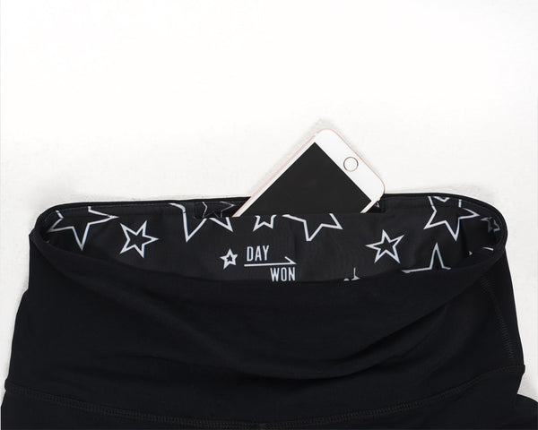 Star Print Full-Length Legging