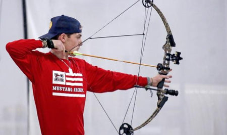 Outdoors: Learning Archery skills in the classroom