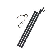 Curtain Hooks (30 Qty) & Ex-Pole Kit