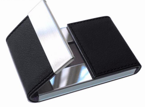 Mens Card Holder - Credit Card Package - Double Open Card Case
