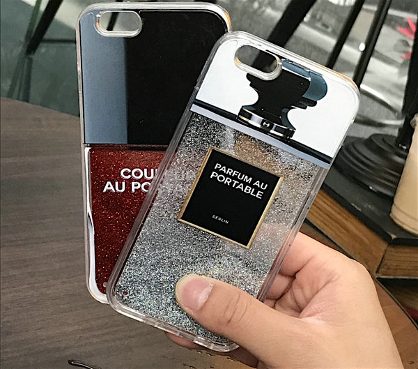 Paris Fashion - Perfume Bottle Luxury Liquid iPhone Covers