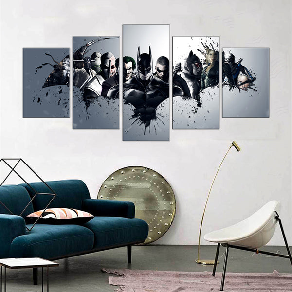MOVIES: BATMAN Wall Art - Movie Oil Painting Picture Art for Home Decor