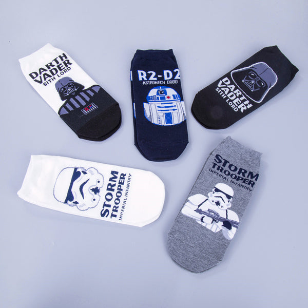 Men's High Quality Star Wars Cotton Casual Socks