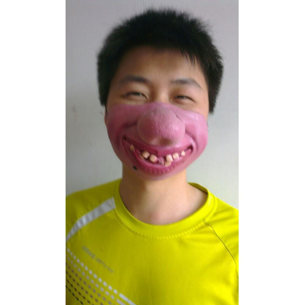 Halloween Creepy Funny Mask - Cosplay Half Face Masks