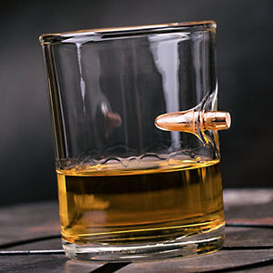 200ml Real Bullet Whisky Shot Glass
