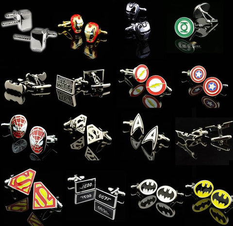 Superhero Cuff Links - Limited Edition